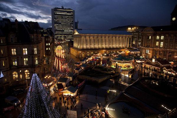 Birmingham Christmas Market Copyright Guy Evans
