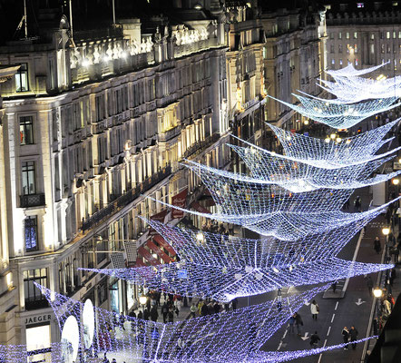 Christmas in London - Copyright Visit Britain
