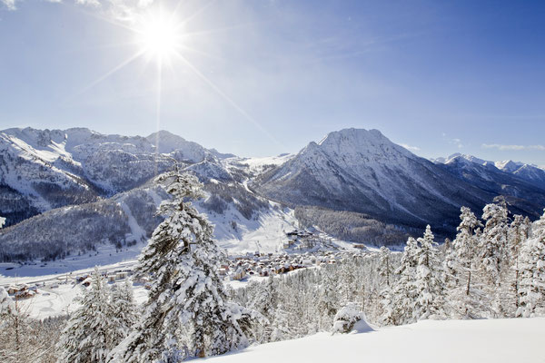 Montgenevre Ski Resort, French Alps © montgenevre.com