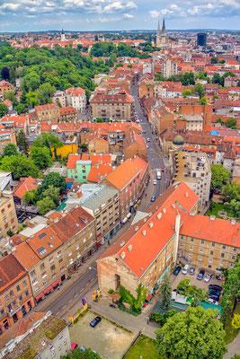 Ilica Street in the city center of Zagreb - Copyright OPIS Zagreb