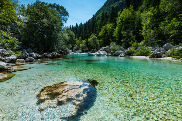 Soca River Crystal clear copyright marcin jucha