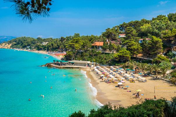 Platis Gialos beach, Kefalonia island, Greece - Copyright Lucian BOLCA