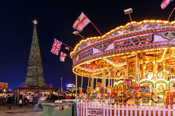 Christmas fair in Hyde park, London - By Alexey Fedorenko