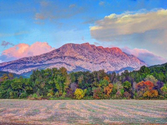 Aix-en-Provence - European Best Destinations - Mont Sainte Victoire Copyright Andy Maguire