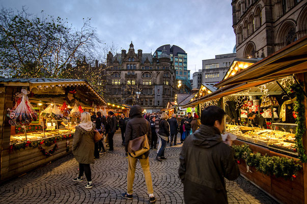 Manchester Christmas Market 3 - Copyright  Manchester City Council