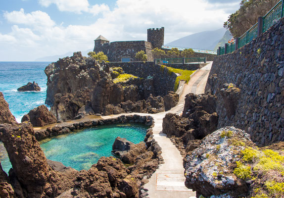 Porto Moniz natural pools, Madeira, Portugal