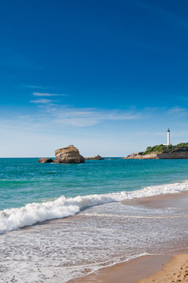 Beach in Biarritz, France Copyright Alexander Demyanenko