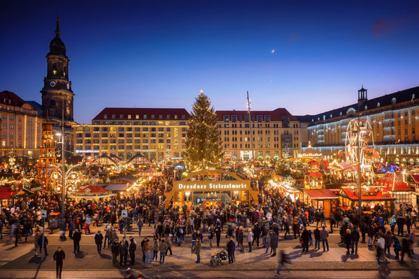 Christmas market in Dresden, Germany - Copyright ddpix.de