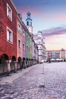 Main market square in Poznan, Poland Copyright mikolajn