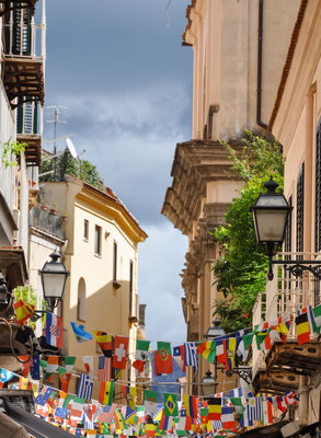 Old street of Sorrento, Italy - Copyright conssuella