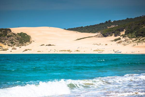 Sand dune of Bolonia beach, province Cadiz, Andalucia, Spain Copyright Lukasz Janyst 2