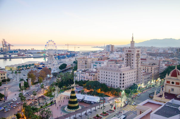 Malaga Christmas lights- Copyright Matthieu Cadiou - European Best Destinations