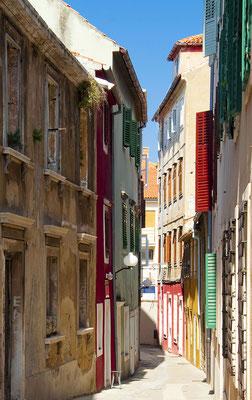 Narrow street in the old town of Zadar , Croatia - Copyright Iuliia Chugai