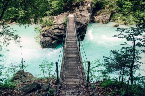 Suspension Bridge Soca Valley Copyright knik