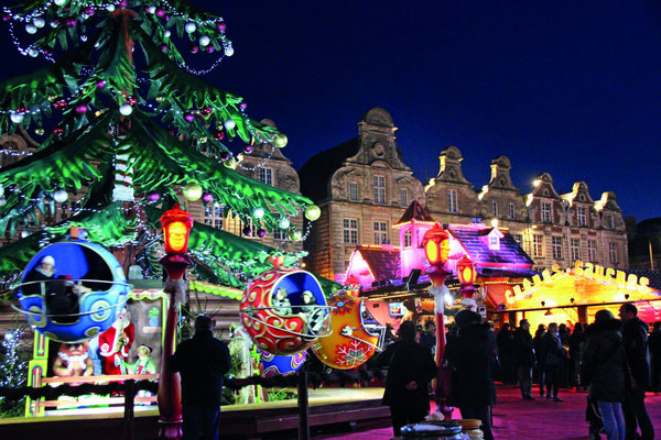 Arras Chrismas market, France - Copyright Noël Arras