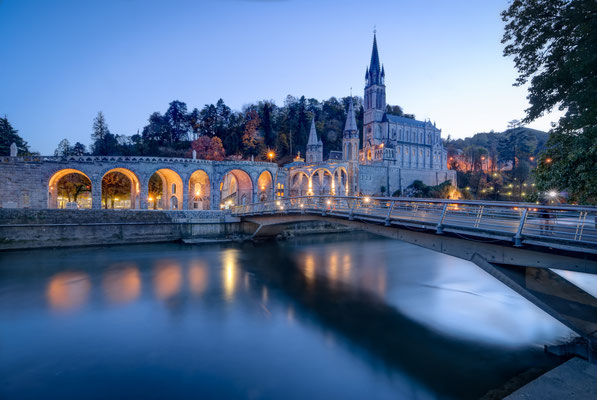 Sanctuary of Our Lady of Lourdes in France Copyright Pramio Garson