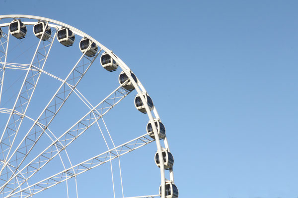The Yorkshire Wheel, York, England. Copyright northallertonman