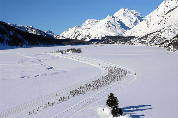 ENGADIN St. Moritz - Copyright Engadin St. Moritz Skimarathon - Signature Remy Steinegger