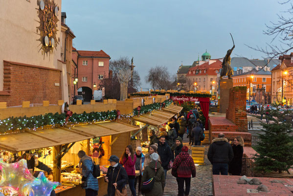 Best Christmas Markets in Europe - Warsaw Christmas Market - Copyright City of Warsaw