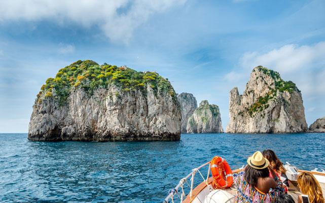 Capri - European Best Destinations - Capri - Faraglioni cliffs  - Copyright Boris-B