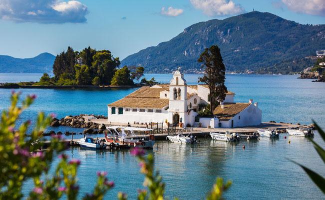 Corfu - European Best Destinations - Vlachema Monastery - Corfu - Copyright Milos Vucicevic