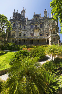 The Regaleira Palace (Quinta da Regaleira), Sintra, Portugal - Copyright Mikadun