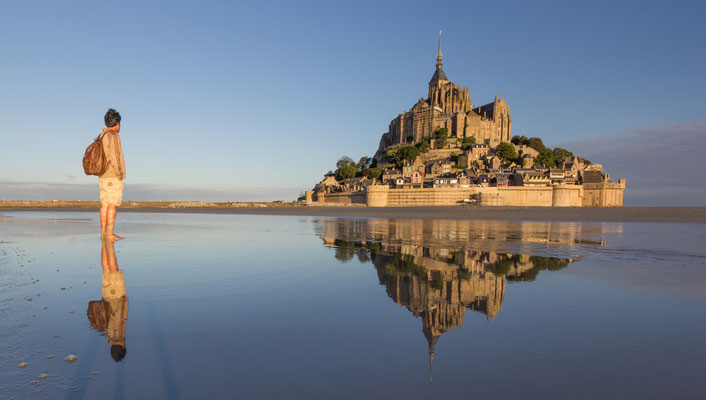 Mont Saint Michel in France - Copyright Kanuman