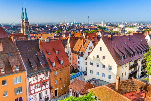 Nuremberg, Germany old town skyline. Copyright Sean Pavone