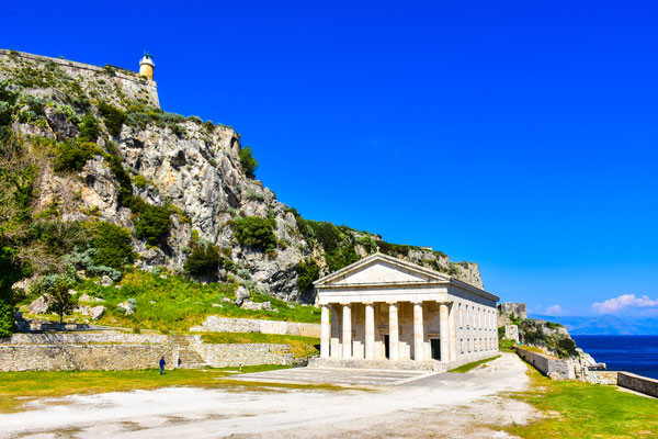 Corfu - European Best Destinations - Kerykra Pantheon - Corfu - Copyright Calin Stan