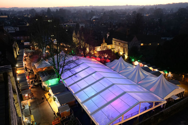 Winchester Cathedral Christmas Market - Copyright winchester-cathedral.org.uk