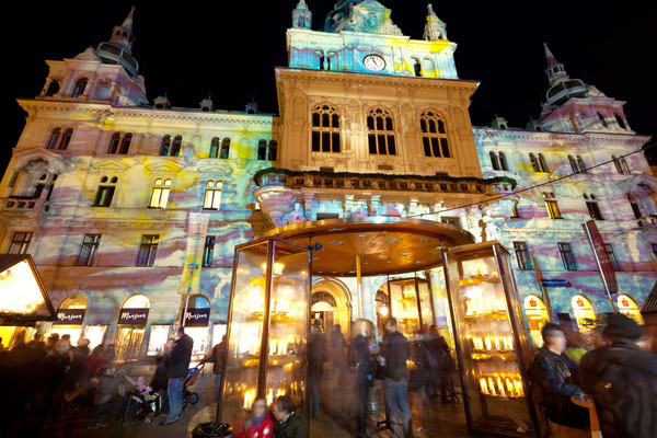 Graz Christmas market Copyright - Graz Tourismus / Harry Schiffer
