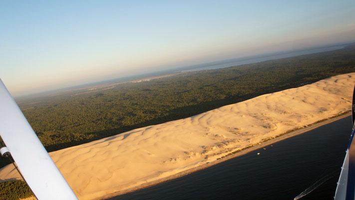 Aerial-view-Arcachon