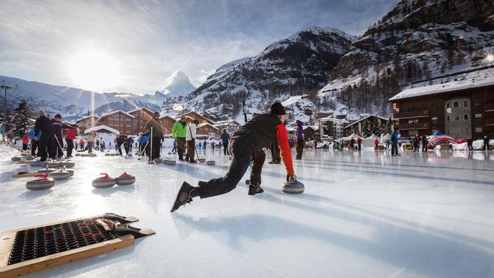 Zermatt - Curling- Copyright Pascal Gertschen