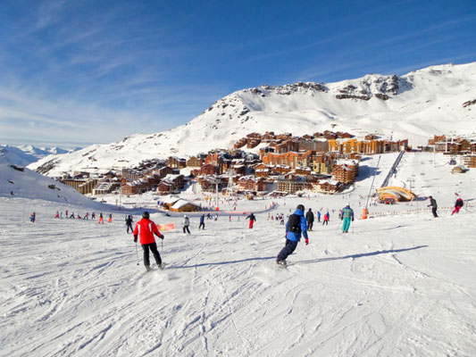 Val Thorens European Best Ski Resorts - Copyright Delpixel