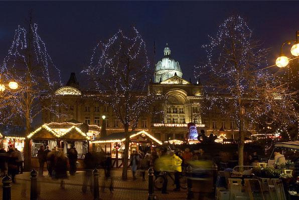 Best Christmas Markets in the UK  - Birmingham Christmas Market Copyright Guy Evans