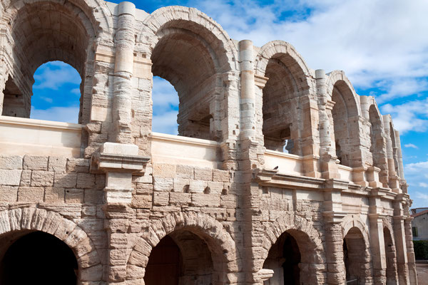 Ancient Roman amphitheater in Arles, France - Copyright Migel
