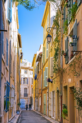 Streets in Marseille, Provence, France by Mariia Golovianko