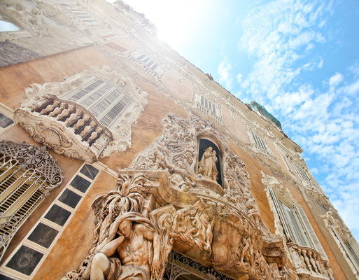Famous historic building in Valencia, Spain - Copyright Vladitto