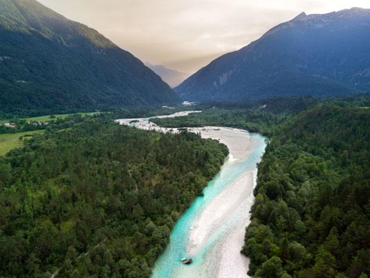 Soca River Julian Alps copyright LuckyPhoto