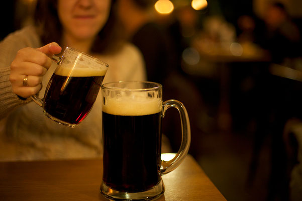 Christmas in Prague - Beer - Copyright  Or Hiltch