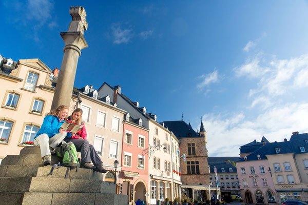 Mullerthal - European Best Destinations - Market square of Echternach © ORT MPSL - Thomas Bichler