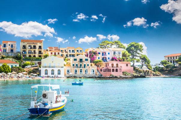 Assos, Kefalonia island, Greece - Copyright Lucian BOLCA