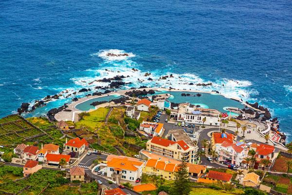 Porto Moniz natural pools, Madeira, Portugal