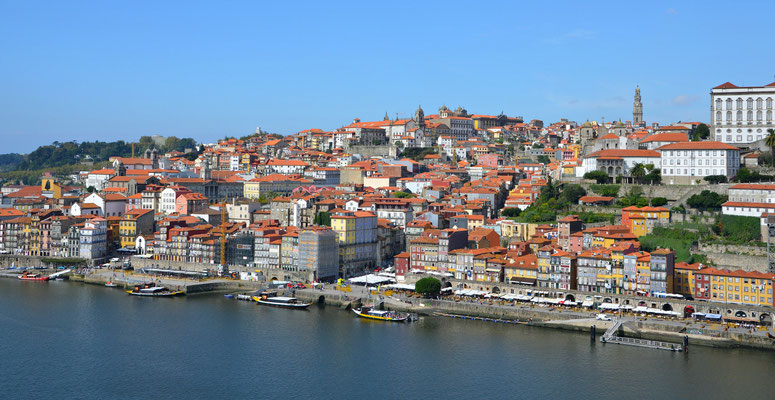 View of Ribeira and Miragaia from Gaia, Portugal © European Best Destinations