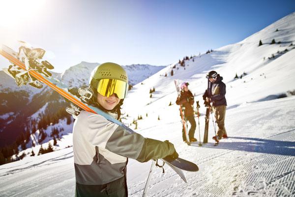Saalbach winter ski alpine - Copyright Saalbach