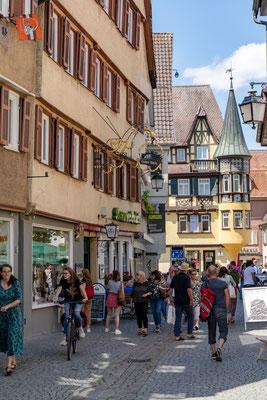 Tubingen street copyright makasana photo / Shutterstock