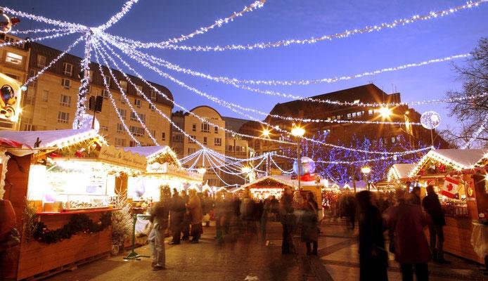 Best Christmas Market in France - Lille Christmas Market Copyright Fédération Lilloise du Commerce