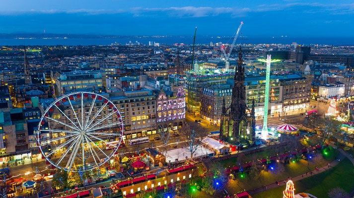 Best Christmas Markets in Europe - Edinburgh Christmas Market - European Best Destinations - Copyright Digital Triangle Creative Ltd small