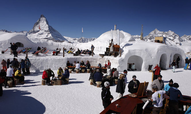 Zermatt - European Best Ski Resorts - European Best Destinations Copyright  Iglu-Dorf Zermatt