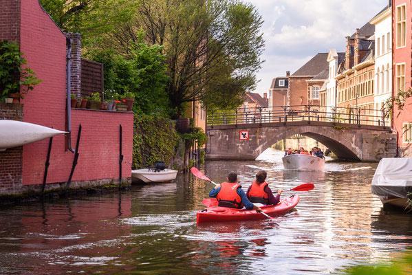 Ghent Kayak copyright Shutterstock / Thomas Dekiere